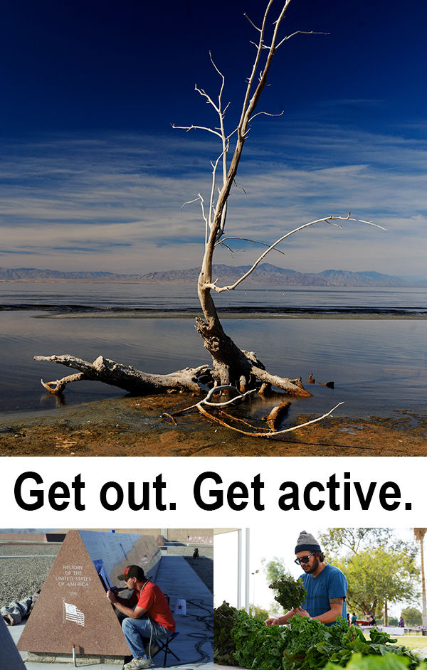 Get out. Get active.