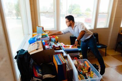 BESD trustee hosts school supply drive
