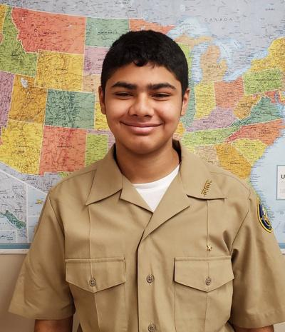 Calexico High School Navy JROTC Cadet of the Week: Gabriel Garcia