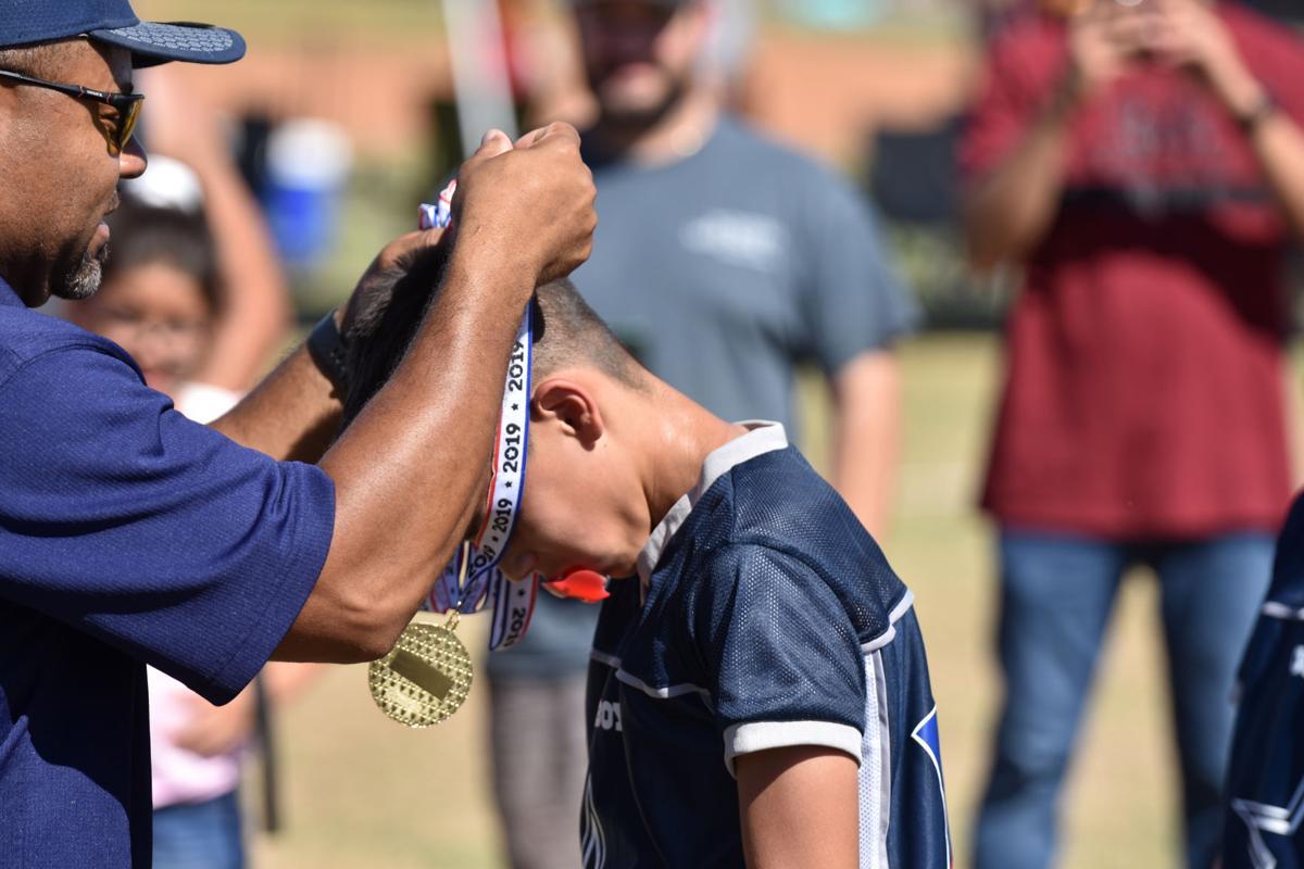First annual IV flag football tournament deemed a success