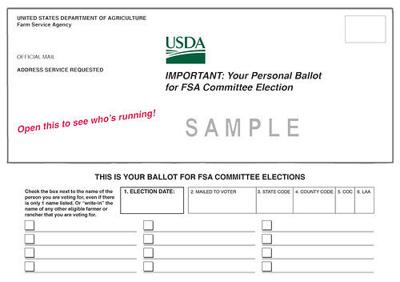 2020 FSA county committee elections underway