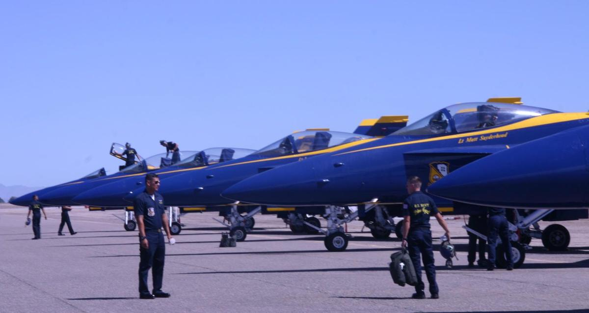 Blue Angels geared up to launch 2016 air show season debut