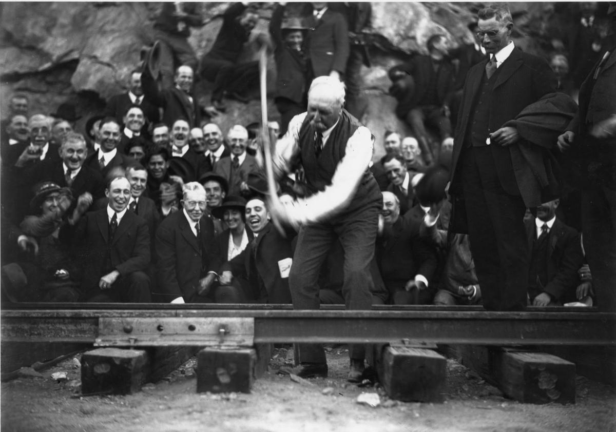 Creation of the San Diego & Arizona Railway