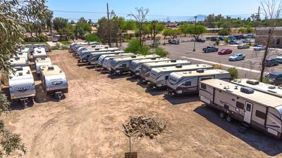 Calexico to receive 10 trailers to house homeless