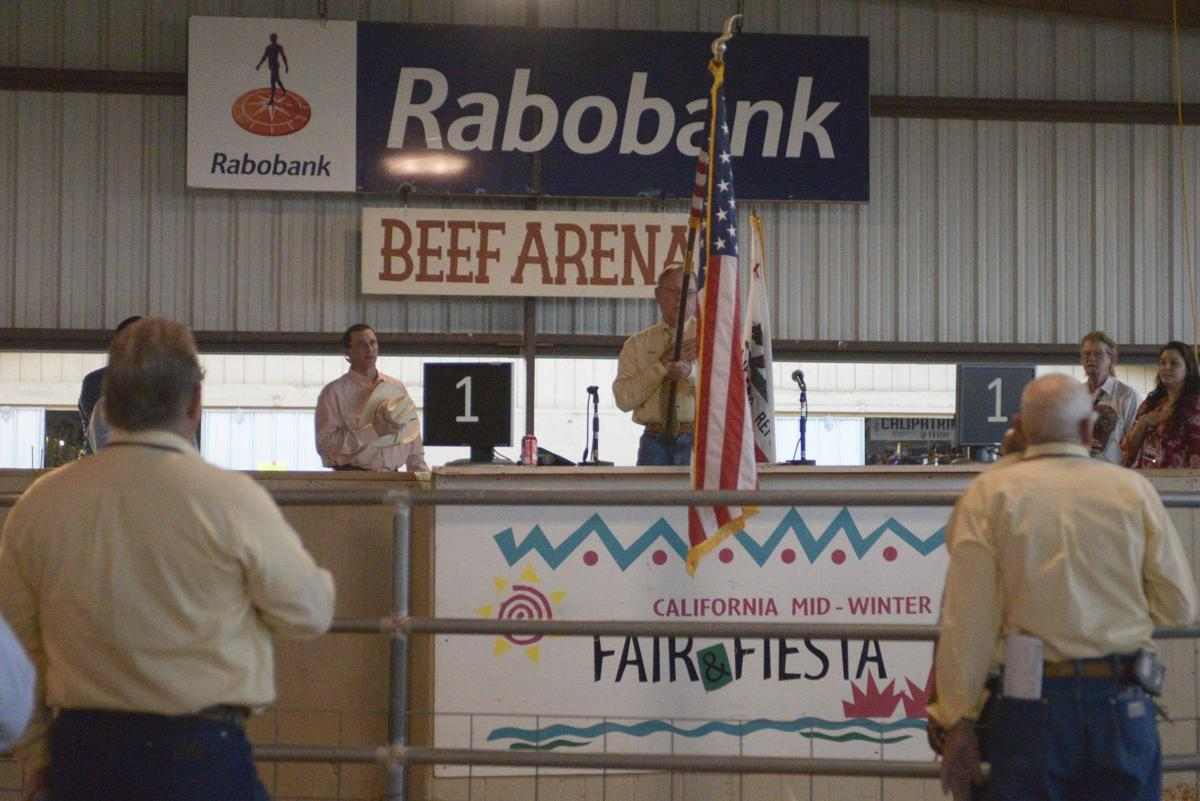 Small animal auction at the California Mid-Winter Fair & Fiesta