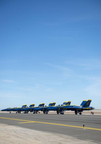 Blue Angels ready to commemorate 50th year at NAF El Centro