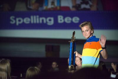 12th annual Regional Spelling Bee winner Nathan Ostermann