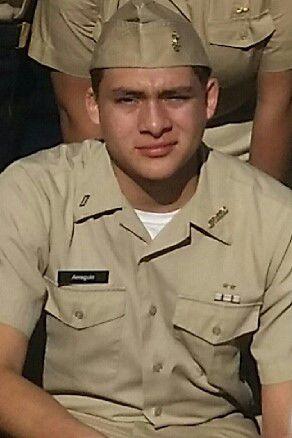 Calexico High School Navy JROTC Cadet of the Week: Joel A. Arreguin