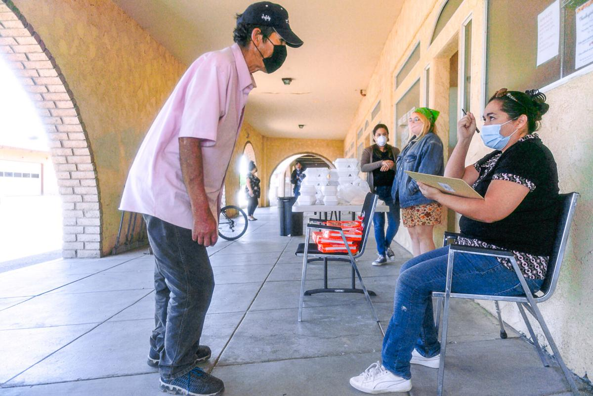 Brawley Feed the Need charity fed and clothed the homeless on Thanksgiving