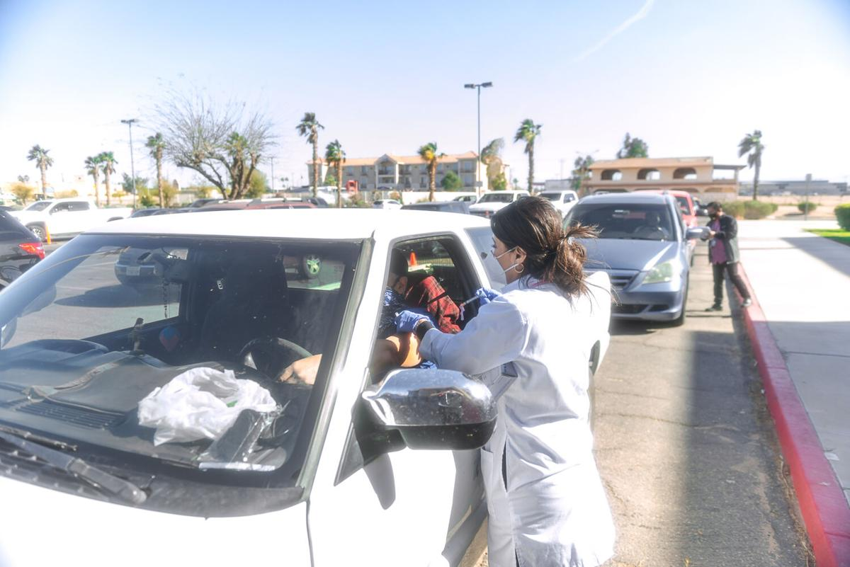 Imperial County has one of California's best vaccination rates. Here's why.