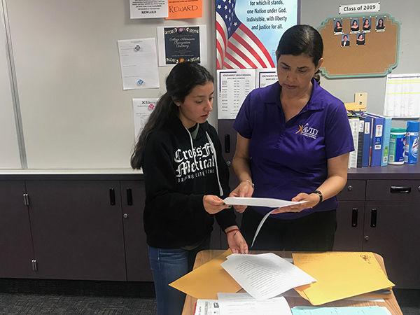 AVID teacher helps students flourish