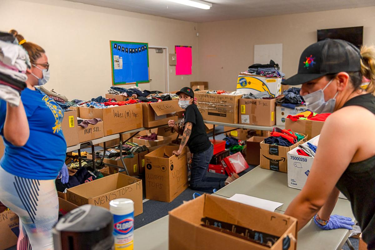 Donations for fire victims fill Calipatria PAL building