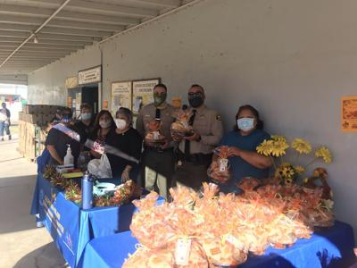 Northend residents in need receive turkey gift cards
