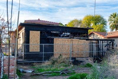 Valley Briefs: Second-alarm fire burns abandoned house in Brawley