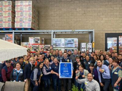 Calexico Walmart recognized as Top Performing Supercenter in the country