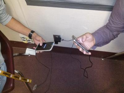 Cell phone charging targeted by CUSD