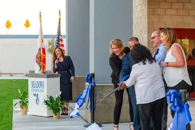 Meadows Elementary celebrates its first gym