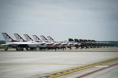 Thunderbirds to begin 4 days' joint training with Blue Angels