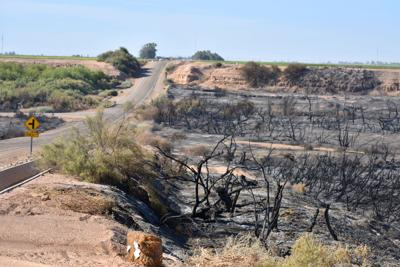More than 400 acres consumed in fire