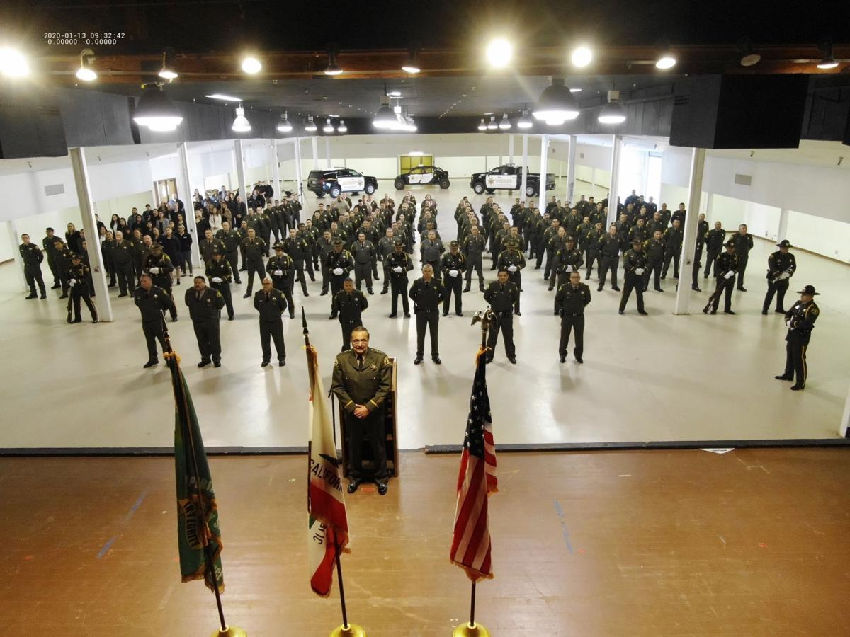 Sheriff, ICSO employees gather for annual inspection