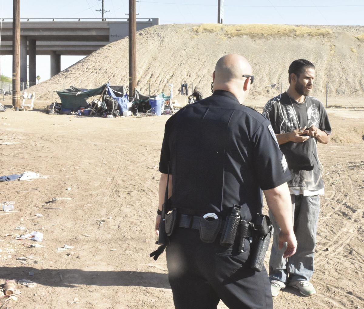 Homelessness placing a strain on public safety