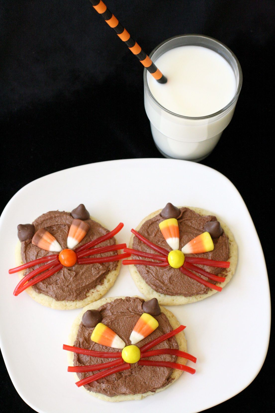 Have no fear with Scaredy Cat Cookies