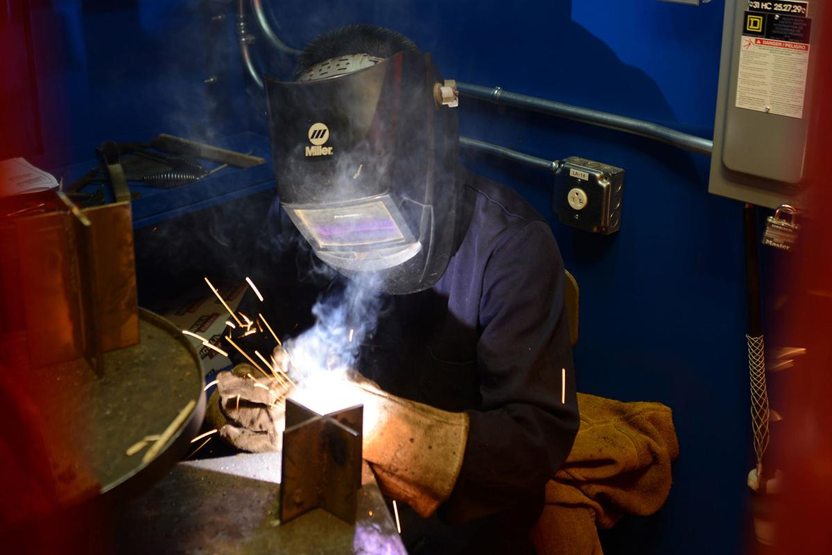 Ag, welding students shine