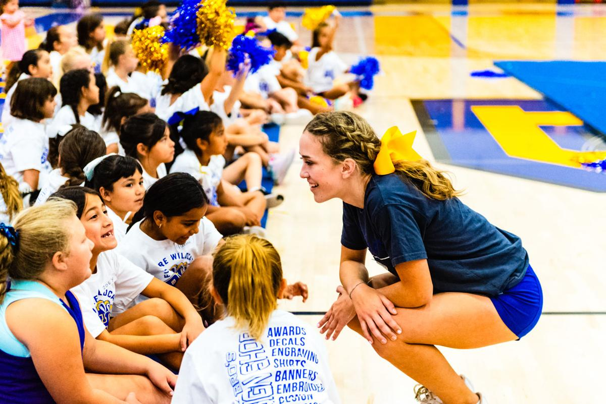 Cheer camp points way for future Wildcats