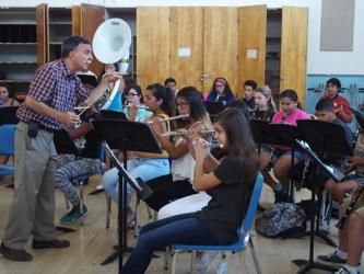 Summer Band Camp prepares students for new school year