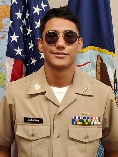Calexico High School Navy JROTC Cadet of the Week: Ruben De La Torre