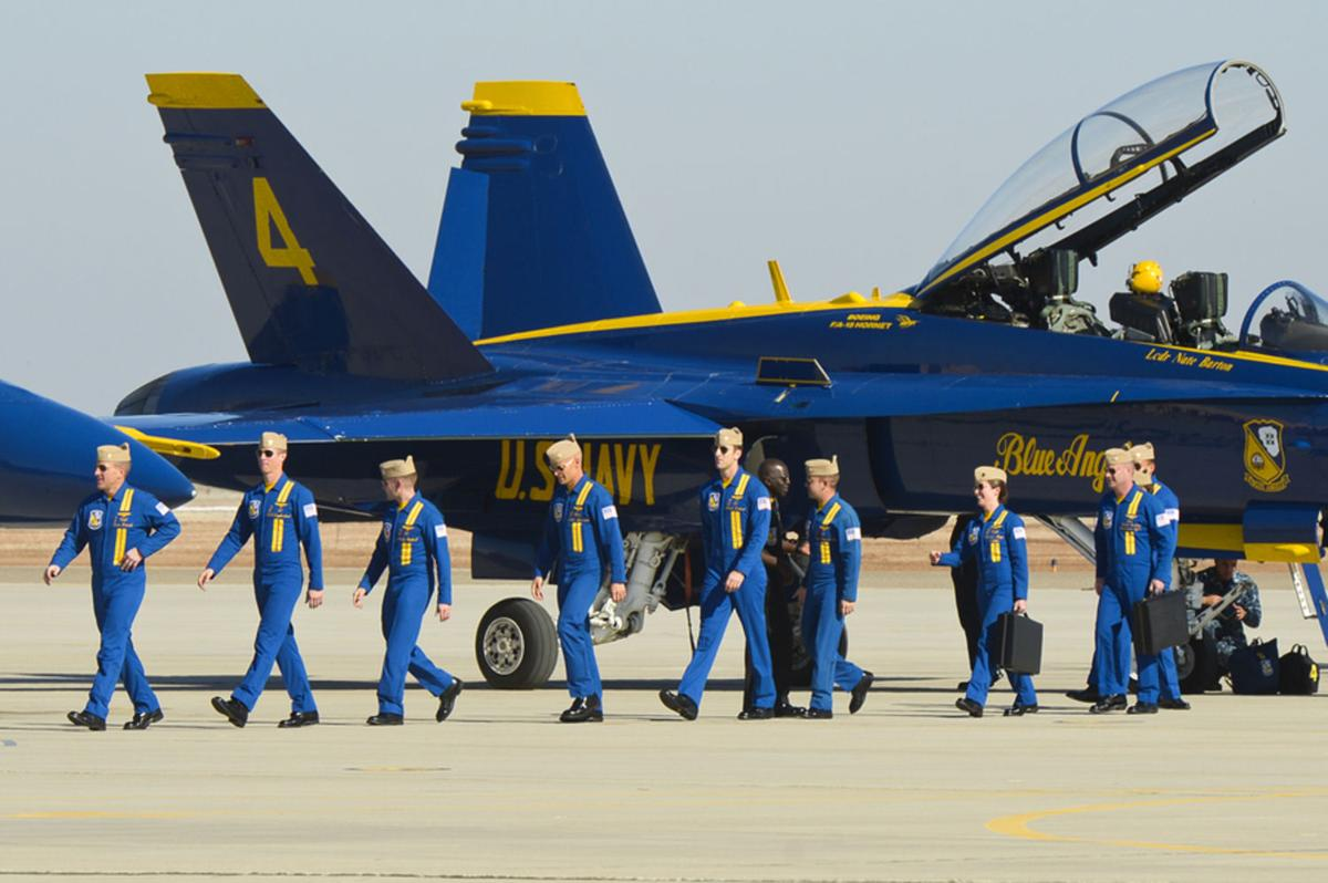 Blue Angels call the Imperial Valley their second home