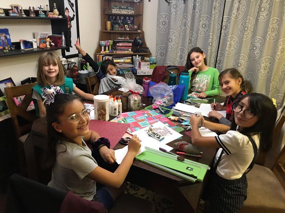Area Girl Scouts keep busy serving community