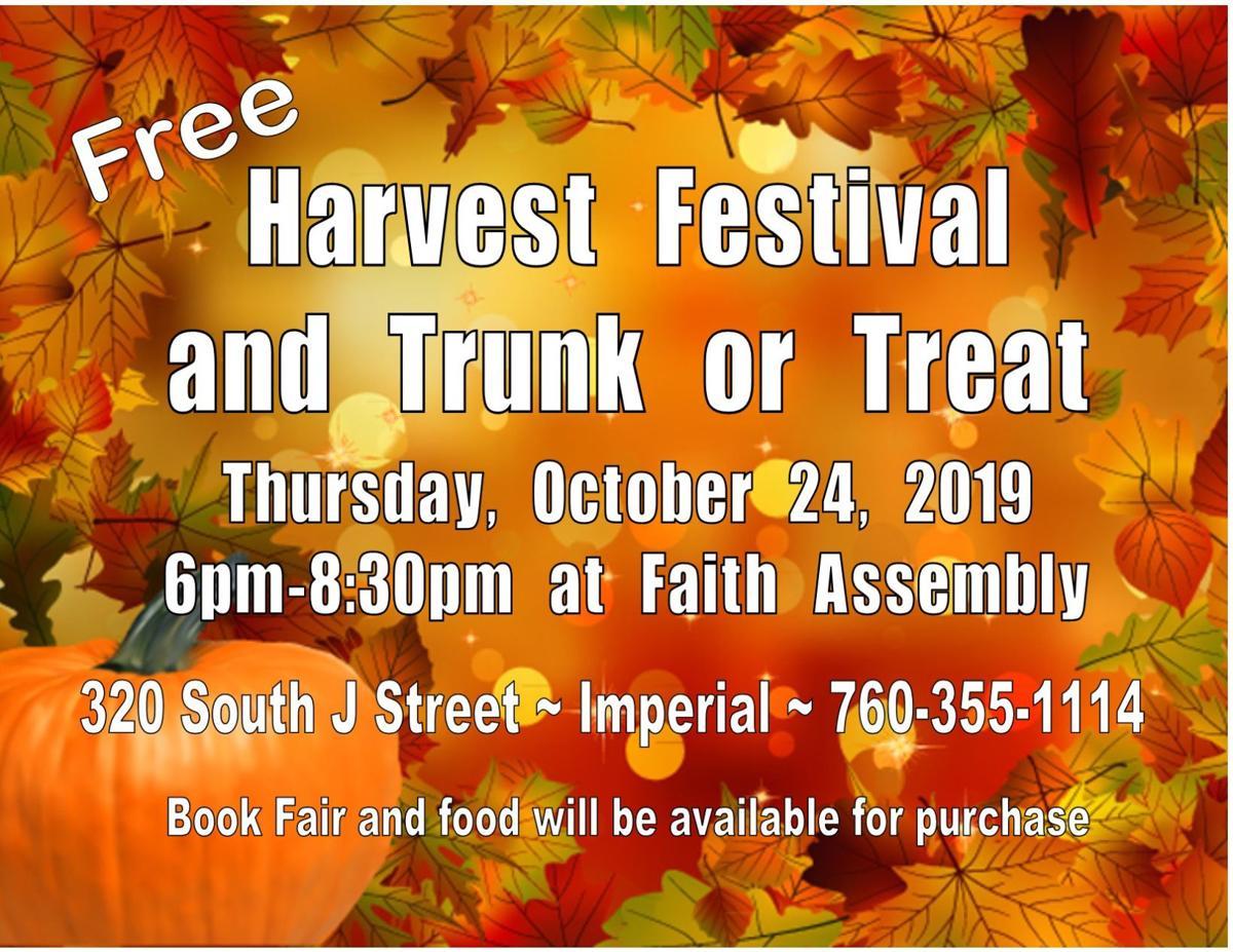 Faith Assembly's Harvest Festival and Trunk or Treat!