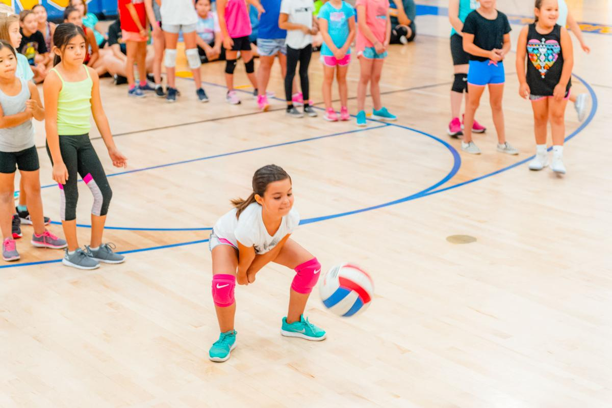 BUHS volleyball serves community with free camp
