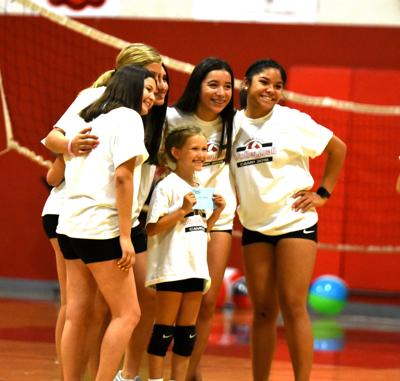 Imperial volleyball hosts early summer clinic