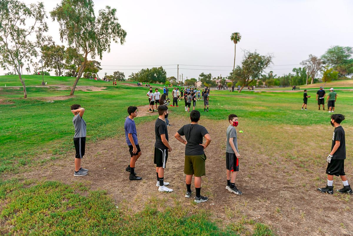 Turnout at tryout underscores local hunger for football