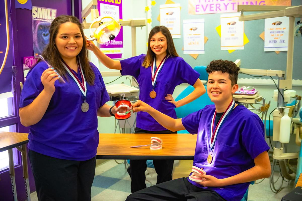 SHS HOSA students sweep state conference, move onto international conference