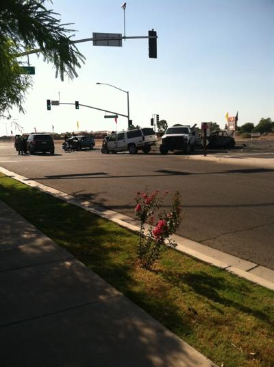 Traffic collision reported on Highway 86 in Brawley