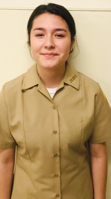 Calexico High School Navy JROTC Cadet of the Week: Leah Gutierrez
