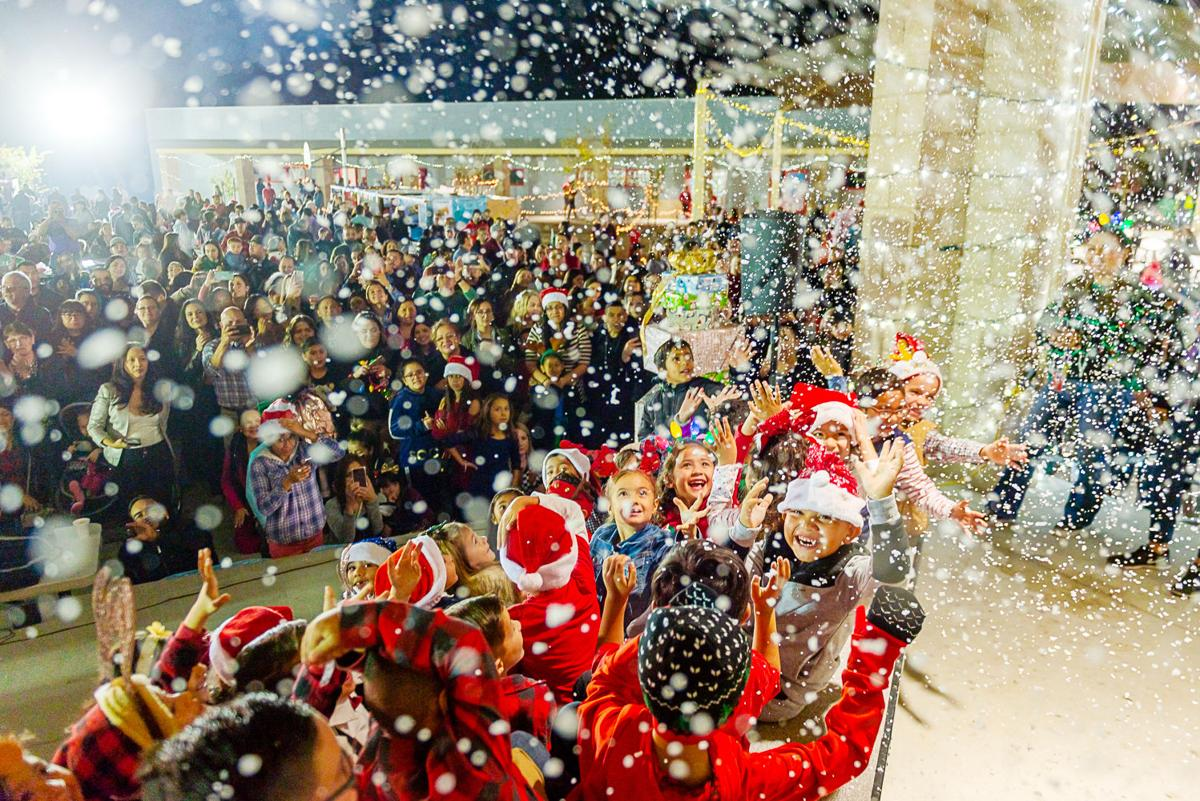 Cross Elementary welcomes community with Winter Wonderland