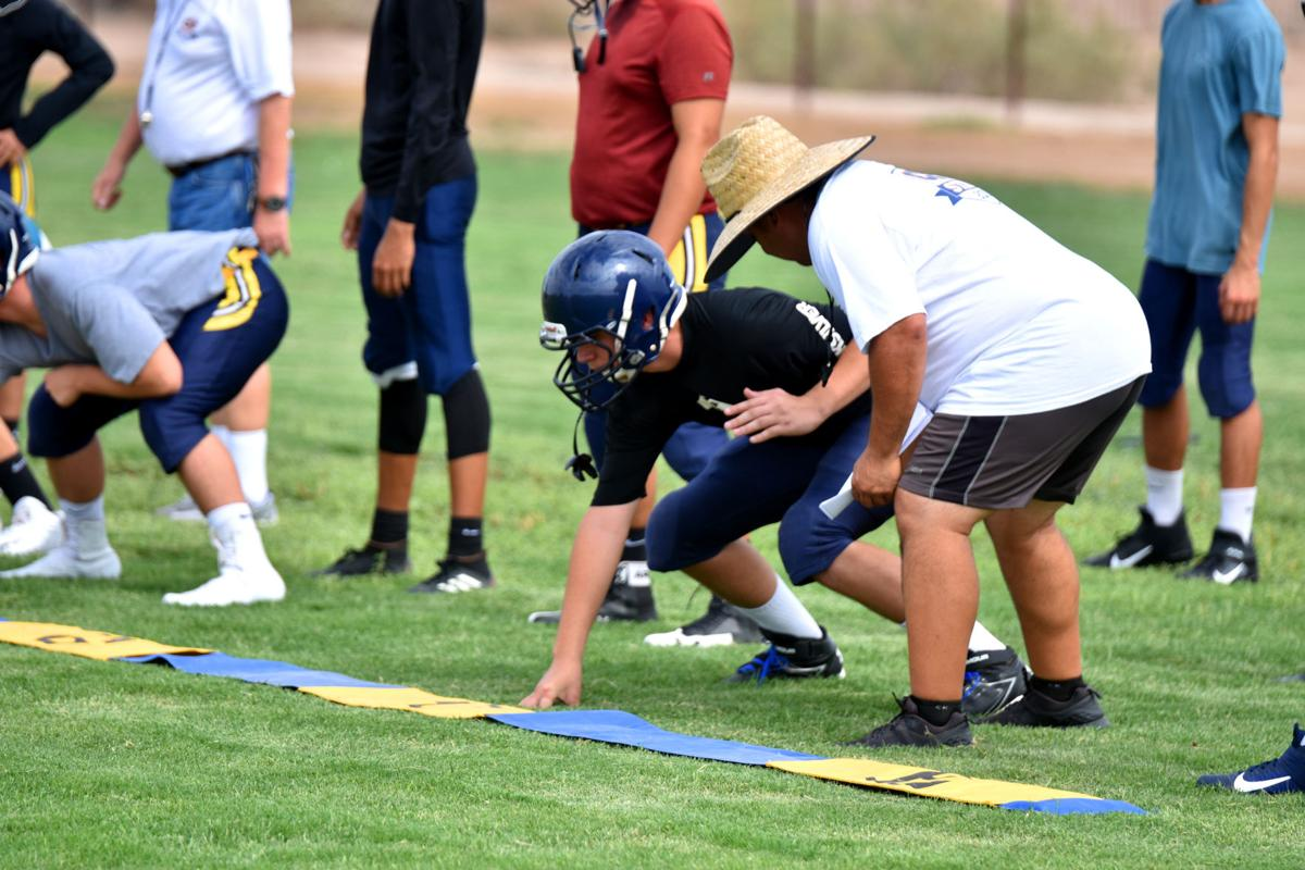 Local football teams resume practice after CIF dead period