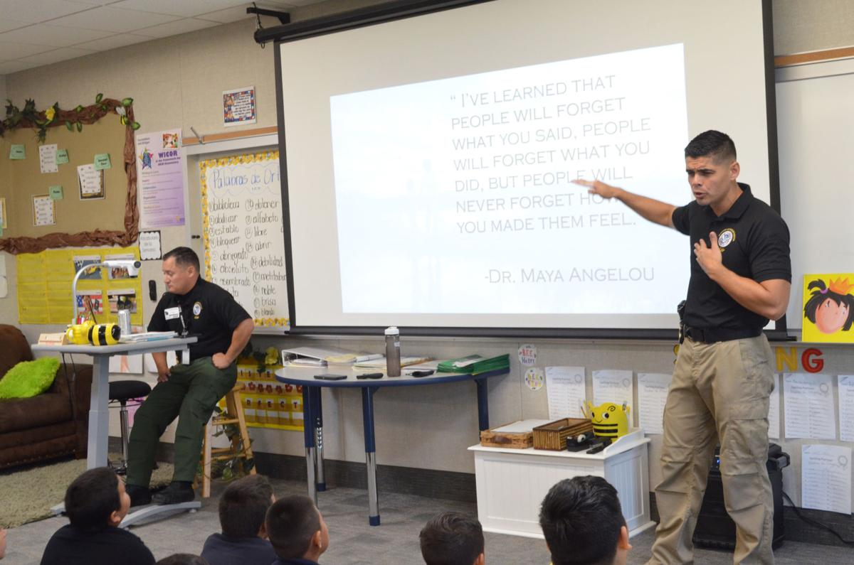 Border Patrol agent helps combat bullying