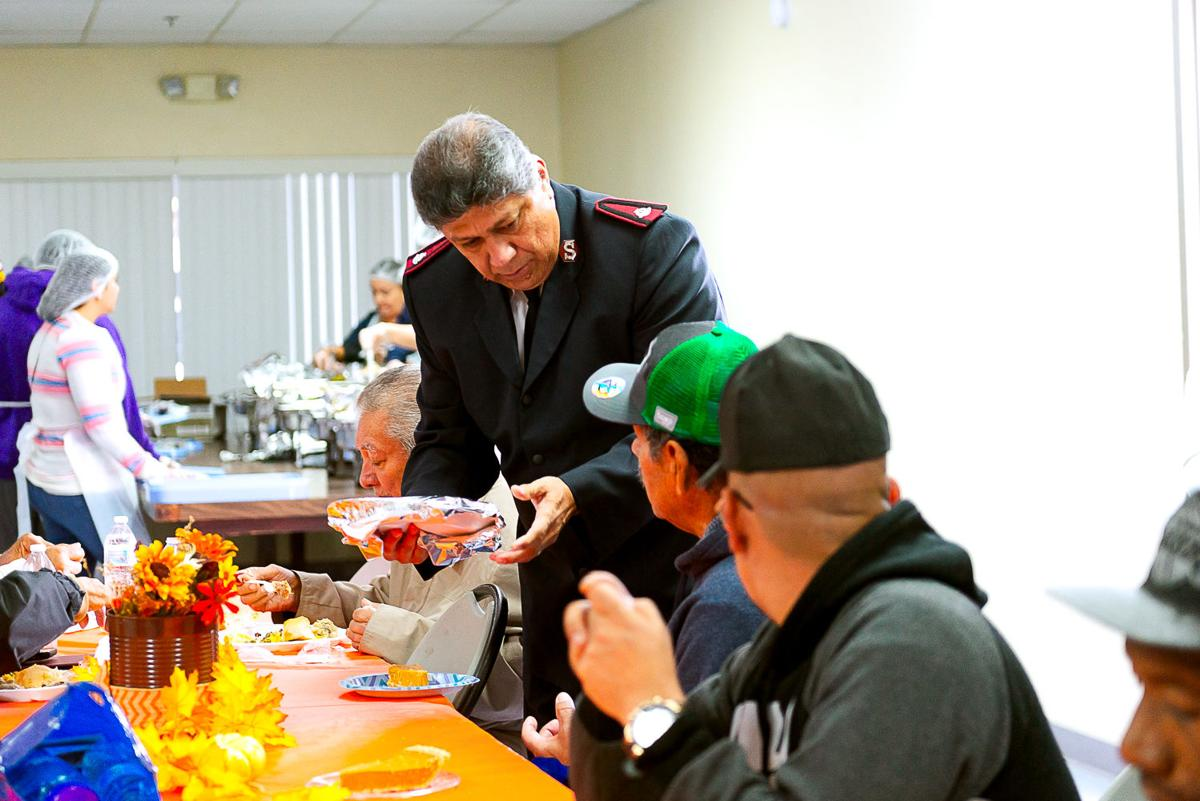 Food and fellowship mark Salvation Army luncheon