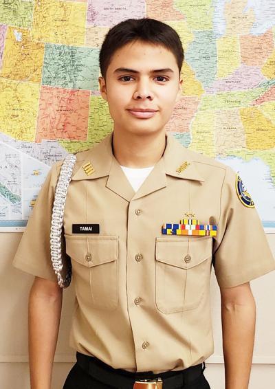 Calexico High School Navy JROTC Cadet of the Week: Jorge Tamai