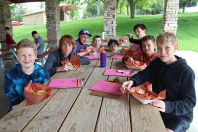 Kiel Middle School students combine literacy with food trucks