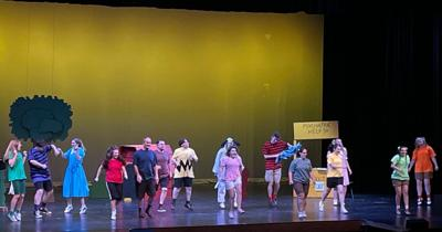 Several shows left of 'You're a Good Man, Charlie Brown' at Chilton's Engler Center
