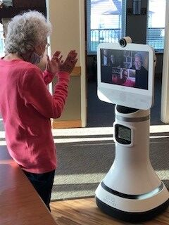 Robot helping to connect St. Paul Elder residents with families