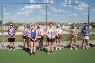 Kiel Girls Tennis Returnees