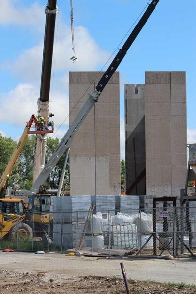 New Performing Arts Center at Kiel High School takes shape