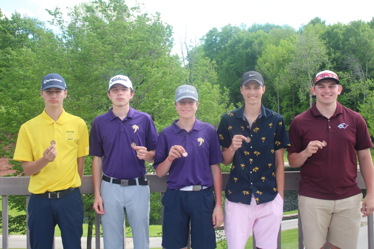All-EWC Golf Honorable Mention